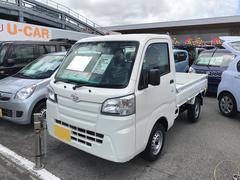 沖縄の中古車 ダイハツ ハイゼットトラック 車両価格 97万円 リ済別 平成29年 5K ホワイト