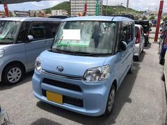 沖縄の中古車 ダイハツ タント 車両価格 119万円 リ済別 平成28年 0.4万K ライトブルー