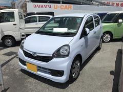 沖縄の中古車 ダイハツ ミライース 車両価格 100万円 リ済別 平成28年 0.6万K ライトブルー