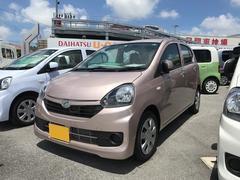 沖縄の中古車 ダイハツ ミライース 車両価格 98万円 リ済別 平成28年 0.2万K ピンク