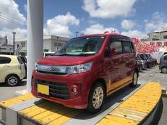 沖縄の中古車 スズキ ワゴンRスティングレー 車両価格 123万円 リ済別 平成28年 2.0万K レッド
