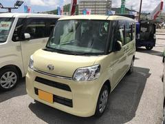 沖縄の中古車 ダイハツ タント 車両価格 134万円 リ済別 平成28年 0.4万K ライトイエロー