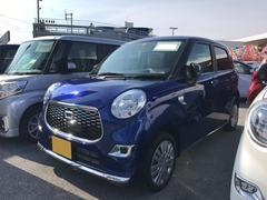 沖縄の中古車 ダイハツ キャスト 車両価格 122万円 リ済別 平成28年 7K ブルー