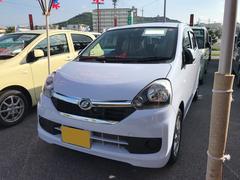 沖縄の中古車 ダイハツ ミライース 車両価格 105万円 リ済別 平成27年 0.3万K ライトブルーM