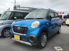 沖縄の中古車 ダイハツ キャスト 車両価格 123万円 リ済別 平成28年 0.4万K ブルーM