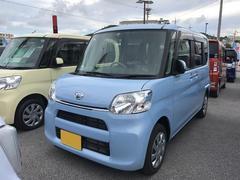 沖縄の中古車 ダイハツ タント 車両価格 116万円 リ済別 平成28年 30K ライトブルー