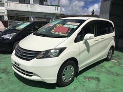 沖縄の中古車 ホンダ フリード 車両価格 69万円 リ済込 平成21年 10.6万K パールホワイト