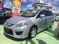 沖縄の中古車 マツダ プレマシー 車両価格 69万円 リ済込 平成21年 6.9万K シルバー