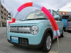 沖縄の中古車 スズキ アルトラパン 車両価格 92万円 リ済込 平成27年 10K フレンチミントパールメタリック