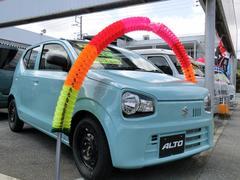 沖縄の中古車 スズキ アルト 車両価格 91.5万円 リ未 新車  フレンチミントパールメタリック