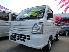 沖縄の中古車 スズキ キャリイトラック 車両価格 88.8万円 リ未 新車  スぺリアホワイト