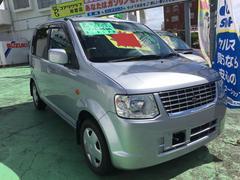 沖縄の中古車 三菱 eKワゴン 車両価格 36万円 リ済込 平成23年 10.5万K シルバー