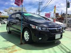 沖縄の中古車 ホンダ ストリーム 車両価格 36万円 リ済込 平成19年 5.1万K ブラック
