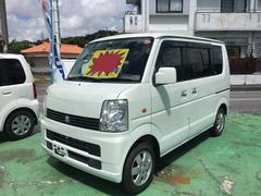 沖縄の中古車 スズキ エブリイワゴン 車両価格 39万円 リ済込 平成19年 14.6万K ホワイト