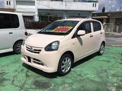 沖縄の中古車 ダイハツ ミライース 車両価格 36万円 リ済別 平成23年 10.9万K ピンクM