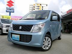 沖縄の中古車 スズキ ワゴンR 車両価格 89万円 リ済込 平成28年 0.7万K ライトブルー