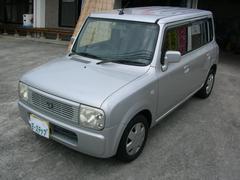 沖縄の中古車 スズキ アルトラパン 車両価格 18万円 リ済込 平成17年 13.2万K シルバーM