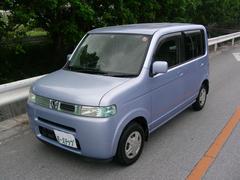 沖縄の中古車 ホンダ ザッツ 車両価格 14万円 リ済込 平成14年 12.1万K ブルーM