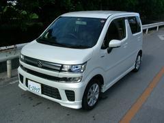 沖縄の中古車 スズキ ワゴンR 車両価格 123万円 リ済込 平成29年 0.8万K パールM