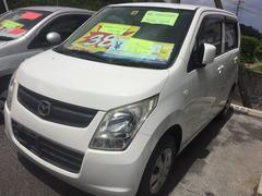 沖縄の中古車 マツダ AZワゴン 車両価格 29万円 リ済込 平成21年 10.9万K パールホワイト