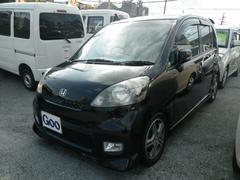 沖縄の中古車 ホンダ ライフ 車両価格 29万円 リ済込 平成20年 11.4万K ブラック
