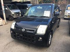沖縄の中古車 日産 ピノ 車両価格 33万円 リ済込 平成21年 11.0万K ブラック