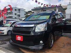 沖縄の中古車 トヨタ ノア 車両価格 88万円 リ済込 平成20年 10.3万K ブラック