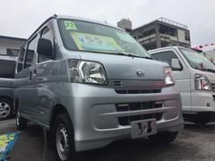 沖縄の中古車 ダイハツ ハイゼットカーゴ 車両価格 49万円 リ済込 平成22年 9.4万K シルバー