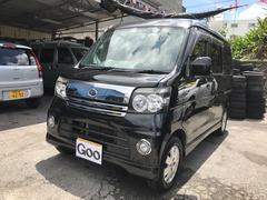 沖縄の中古車 ダイハツ アトレーワゴン 車両価格 64万円 リ済込 平成19年 10.6万K ブラック