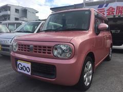 沖縄の中古車 スズキ アルトラパン 車両価格 64万円 リ済込 平成21年 3.3万K ピンク