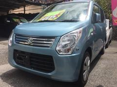 沖縄の中古車 スズキ ワゴンR 車両価格 53万円 リ済込 平成25年 10.3万K ライトブルー