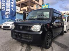 沖縄の中古車 スズキ アルトラパン 車両価格 53万円 リ済込 平成24年 10.3万K ブラック
