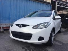 沖縄の中古車 マツダ デミオ 車両価格 40万円 リ済込 平成23年 7.6万K ホワイト