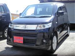 沖縄の中古車 スズキ ワゴンRスティングレー 車両価格 46万円 リ済込 平成22年 10.7万K ブラック