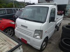 沖縄の中古車 スズキ キャリイトラック 車両価格 69万円 リ済込 平成17年 4.7万K ホワイト