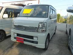 沖縄の中古車 スズキ エブリイワゴン 車両価格 53万円 リ済込 平成21年 13.4万K パール