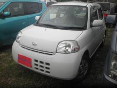 沖縄の中古車 ダイハツ エッセ 車両価格 16万円 リ済込 平成20年 11.0万K ホワイト