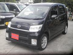 沖縄の中古車 ダイハツ ムーヴ 車両価格 42万円 リ済込 平成22年 13.1万K ブラック