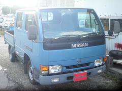 沖縄の中古車 日産 アトラストラック 車両価格 49万円 リ済込 平成10年 16.1万K ブルー