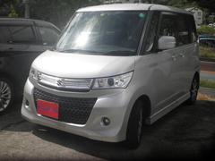 沖縄の中古車 スズキ パレットSW 車両価格 44万円 リ済込 平成21年 11.8万K シルバー