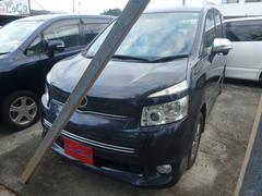 沖縄の中古車 トヨタ ヴォクシー 車両価格 69万円 リ済込 平成21年 10.7万K パープル