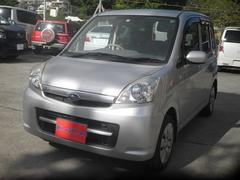 沖縄の中古車 スバル ステラ 車両価格 19万円 リ済込 平成19年 11.1万K シルバー