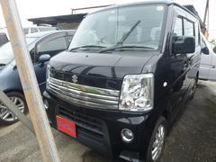 沖縄の中古車 スズキ エブリイワゴン 車両価格 76万円 リ済込 平成24年 11.9万K ブラック