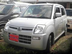 沖縄の中古車 マツダ キャロル 車両価格 19万円 リ済込 平成20年 10.0万K シルバー
