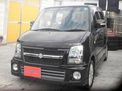 沖縄の中古車 スズキ ワゴンR 車両価格 34万円 リ済込 平成19年 12.7万K ブラック