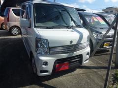 沖縄の中古車 スズキ エブリイワゴン 車両価格 63万円 リ済込 平成24年 13.3万K パール