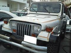 沖縄の中古車 AMC・ジープ AMCジープ ラングラー 車両価格 ASK リ済込 1989年 5.9万K ホワイト