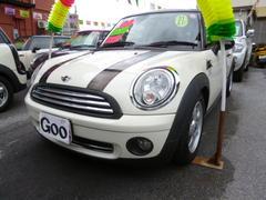 沖縄の中古車 MINI MINI 車両価格 115万円 リ済込 2009年 7.5万K ホワイト