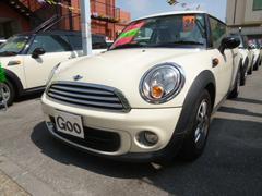 沖縄の中古車 MINI MINI 車両価格 139万円 リ済込 2012年 5.4万K ホワイト