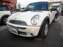 沖縄の中古車 MINI MINI 車両価格 75万円 リ済込 2006年 7.6万K ペッパーホワイト